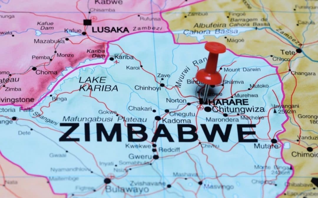 Telecom infrastructures of networks in Zimbabwe